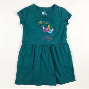 Primary Dress With Unicorn Embellishments